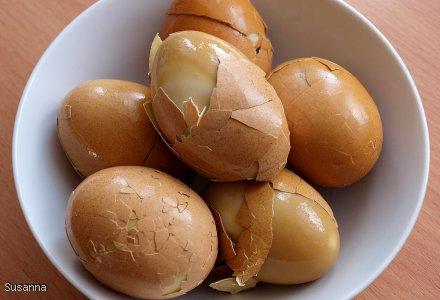Jajka w zalewie kminkowej na Wielkanoc