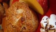 Korzenno -  jabłkowe muffinki.