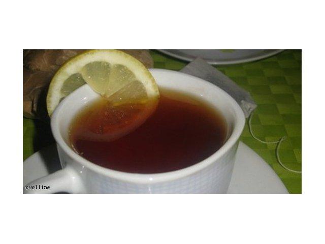 Herbata z imbirem  -  na dwa sposoby