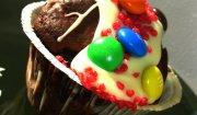 Czekoladowo - wiśniowe muffinki