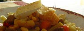 Zaskakujący gulasz z makaronem