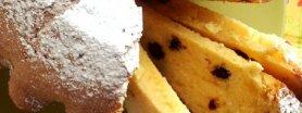 Wielkanocna babka cytrynowo-żurawinowa