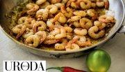 Uroda Życia poleca: rozgrzewające  krewetki z chilli